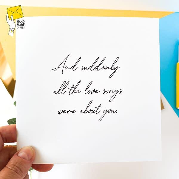 love you card, i love you
