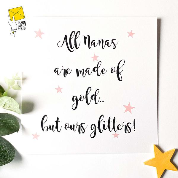 Nanna card, card for grandma