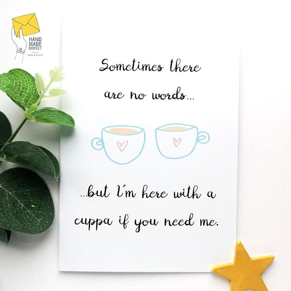 Sorry for your loss card, bereavement, thinking of you