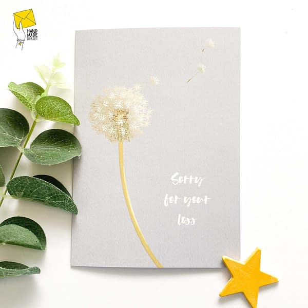 Sorry for your loss Card, in sympathy card