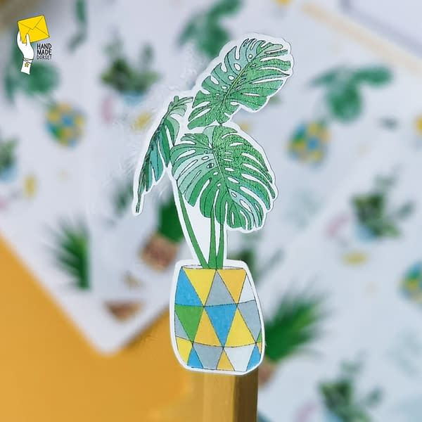 Plant stickers, plant planner stickers
