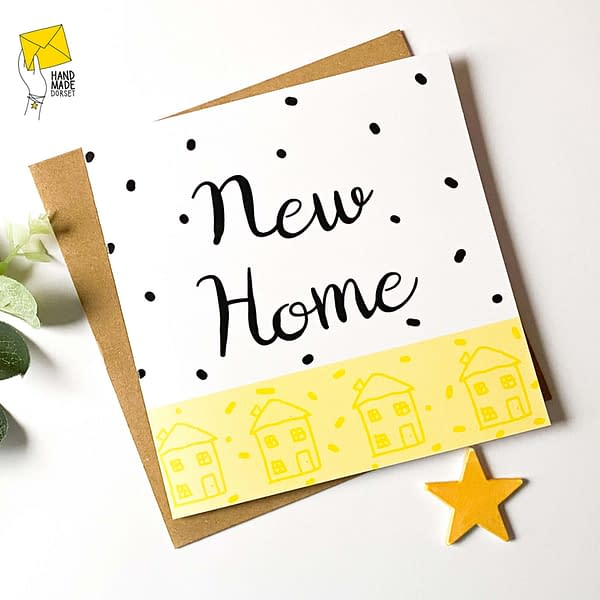 New home card, moving in card