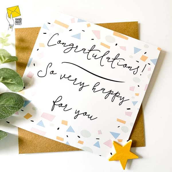 Congratulations card, you did it card