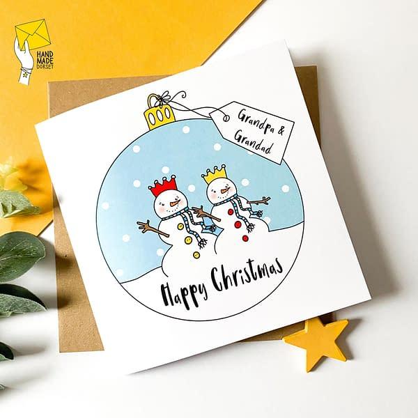 Two Grandads card, card for gay grandad