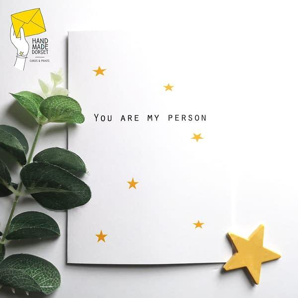 You are my person card, card you are my person