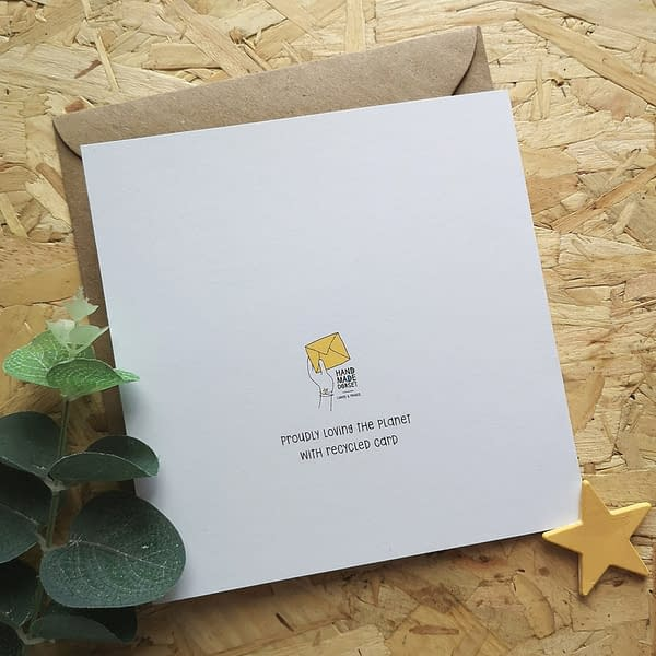 New baby card, card for new baby