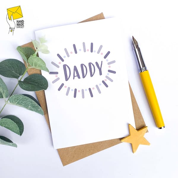 Birthday card for Daddy, Father's Day card for Daddy